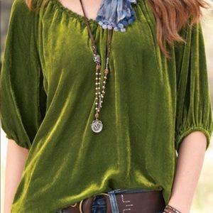 Sundace Velvet blouse